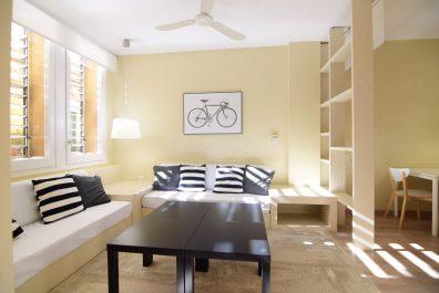 Ref 1681 – Apartamento en alquiler en la zona de Sant Gervasi, Barcelona. 55m2