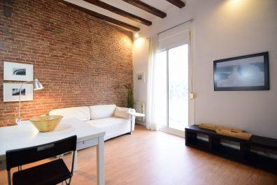 Ref 3258 – Estudi en lloguer a la zona del Raval, Barcelona. 47m2