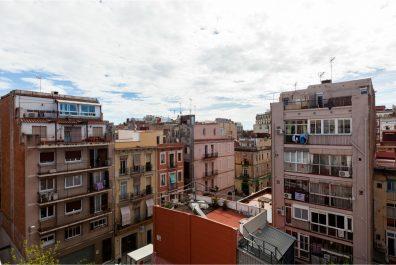 Ref 3629 – Àtic en lloguer a la zona de la Vila de gràcia, Barcelona. 60m2