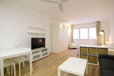 Ref 3876T – Estudio en alquiler en la zona del Raval, Barcelona. 40m2