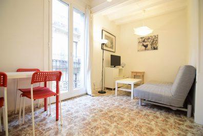 Ref 2752 – Apartament en lloguer a la zona de Barri Gòtic, Barcelona. 50m2