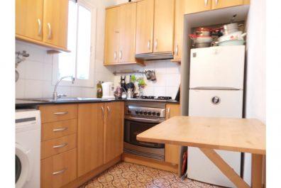 Ref 2633 – Apartament en lloguer a la zona de Sant Antoni, Barcelona. 55m2