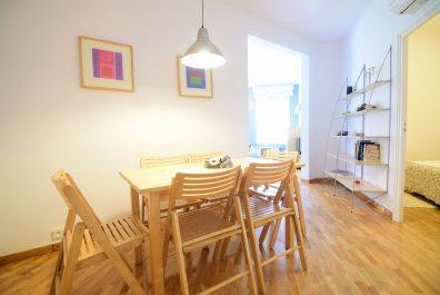 Ref 1287 – Apartament en lloguer a la zona del Guinardó, Barcelona. 77m2