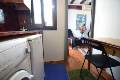 Ref 2839 – Apartament en lloguer a la zona del Gòtic, Barcelona. 30m2