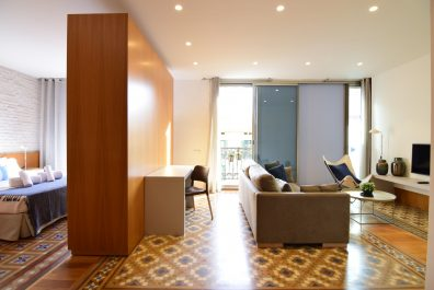 Ref 2508 – Apartament en lloguer a la zona de l'Eixample, Barcelona. 53m2