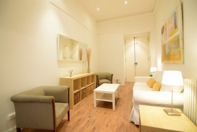 Ref 2509 – Apartament en lloguer a la zona de Sant Gervasi, Barcelona. 65m2