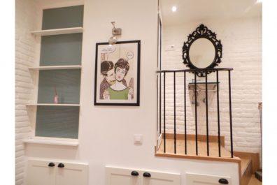 Ref 3080 – Estudio en alquiler en la zona de Virrei Amat, Barcelona. 15m2