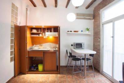 Ref 3922V – Estudio en venta en la zona del Raval, Barcelona. 36m2