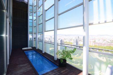 Ref 3935M – Ático en alquiler en la zona de Diagonal Mar, Barcelona 153 m2