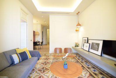 Ref 3968 – Apartamento en alquiler en la zona de Eixample, Barcelona. 70m2