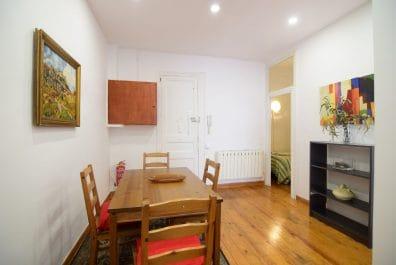 Ref 4034 – Apartament en lloguer a la zona de Gràcia, Barcelona. 55m2