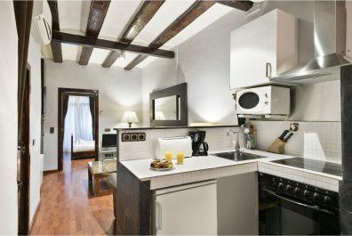 Ref 4036T – Apartament en lloguer temporal a la zona de Ciutat Vella, Barcelona. 60m2
